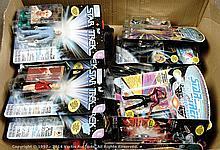GRP inc Playmates Star Trek 19 x carded figures