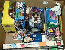 QTY inc Collection of TV and Film toys Palitoy