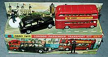 Corgi Toys gift set No.35 London Passenger