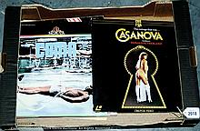 TV/Film Laser vision discs, - Casanova