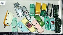 GRP inc Dinky cars - Packard, Daimler, Triumph