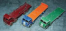 GRP inc Dinky st and 2nd cab Foden's - 1st cab