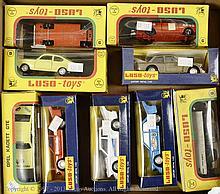 GRP inc Luso Toys boxed Car - No.9 Opel Kadette