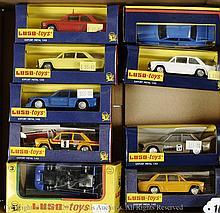 GRP inc Luso Toys boxed Car - No.3 Lola Gitanes