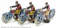 GRP inc JLM Tinplate Motorcycle - 3 x Solo