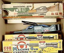 GRP inc Chinese Tinplate Toy Gun - 6 x ME602