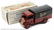 Triang Minic Delivery Van - dark red cab, lower