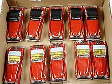 GRP inc Japan Tinplate MG Car - 10 x Opentop