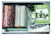 QTY inc Railway Hard and Soft Backed Books