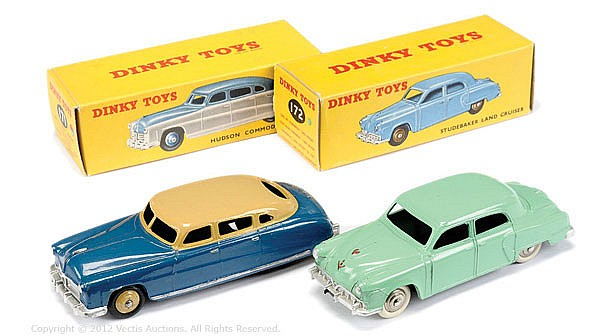 PAIR Dinky No.171 Hudson Sedan