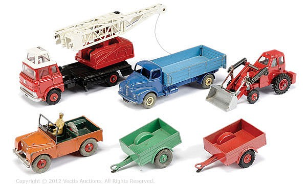 GRP Dinky unboxed Commercial Vehicles inc N0.532