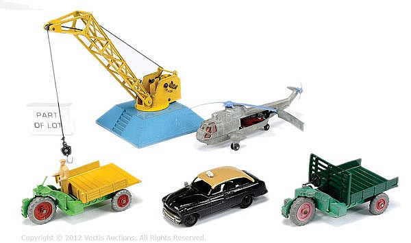 GRP Dinky unboxed Cars and Light Commercials