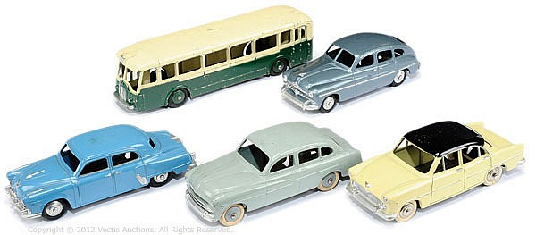 GRP French Dinky unboxed inc Ford Vedette