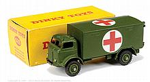Dinky No.626 Military Ambulance - military green