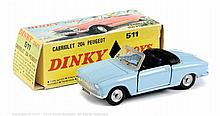French Dinky No.511 Peugeot 204 Cabriolet