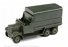 Dinky No.151B 6-wheeled Military Covered Wagon
