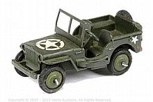 Dinky No.153A US Military Jeep - dark military