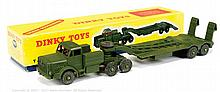 Dinky No.660 Military Tank Transporter