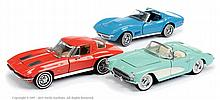 GRP inc Franklin Mint 1/24th scale Corvette