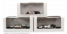 GRP inc Ebbro Honda Formula 1 Racing Cars