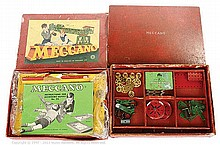 PAIR inc Meccano Set No.6 (1950's) red/green