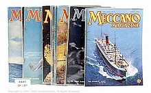 GRP inc Meccano Magazines various loose volumes
