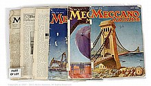 GRP inc Meccano Magazines loose volumes: 1927