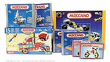 GRP inc Meccano 8 x Modern Sets: 4036 - makes