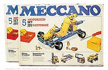 PAIR inc Meccano (circa 1970) 2 x Set No.5