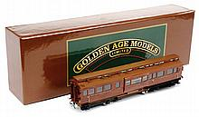 Golden Age Models Limited OO Gauge LNER Teak liveried Dynamometer car