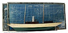 GRP inc Bassett-Lowke Model Steam Yacht Seabird