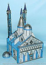 Meccano Model of The Basilica of Saint Anthony