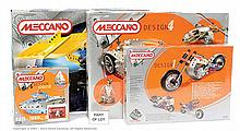 GRP inc Meccano various modern issue sets 9550