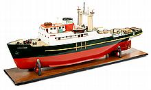 Tug Boat Jade A Gibson, a highly detailed model