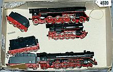 Peco HO Gauge 3 x Steam Outline locos 4-6-2