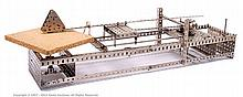 Meccano Model of a Meccanograph in early nickel