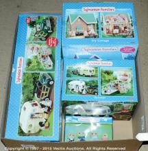GRP inc Sylvanian Families boxed Ivy Cottage