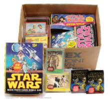 QTY inc Topps Star Wars vintage card collection