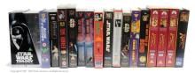 QTY inc VHS Videos- includes Star Wars Trilogy