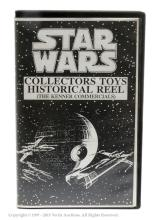 VHS Video Star Wars Collectors Toys Historical