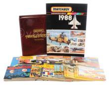 QTY inc Matchbox Catalogues 1963; 4 x 1965