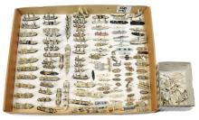 QTY inc 1/1200th scale metal Waterline Ships