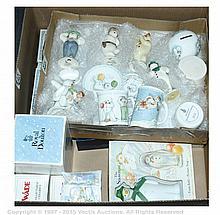 QTY inc The Snowman by Raymond Briggs Ceramics