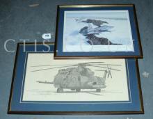 PAIR inc Pair of framed LE Aircraft