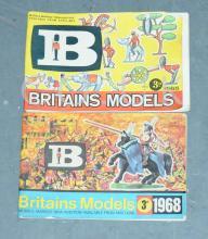 PAIR inc Britains 1965 and 1968 Catalogue