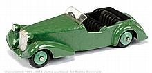 Dinky No.38D Alvis - mid to dark green body
