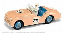 Dinky No.111 Triumph TR2 - light pink, mid blue