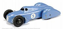 Dinky No.23D Pre-War Auto Union - blue, racing