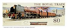 Hornby (China) OO Gauge The Royal Train Marks