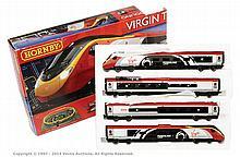 Hornby (China) OO Gauge Virgin Train Set R1155